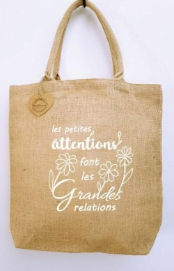 Totebag les petites attentions