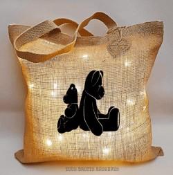 Sac lumineux PtisaK© oursons lumière chaude