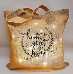 Sac lumineux PtisaK© home sweet home lumière chaude